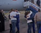 Astronauts escape Soyuz